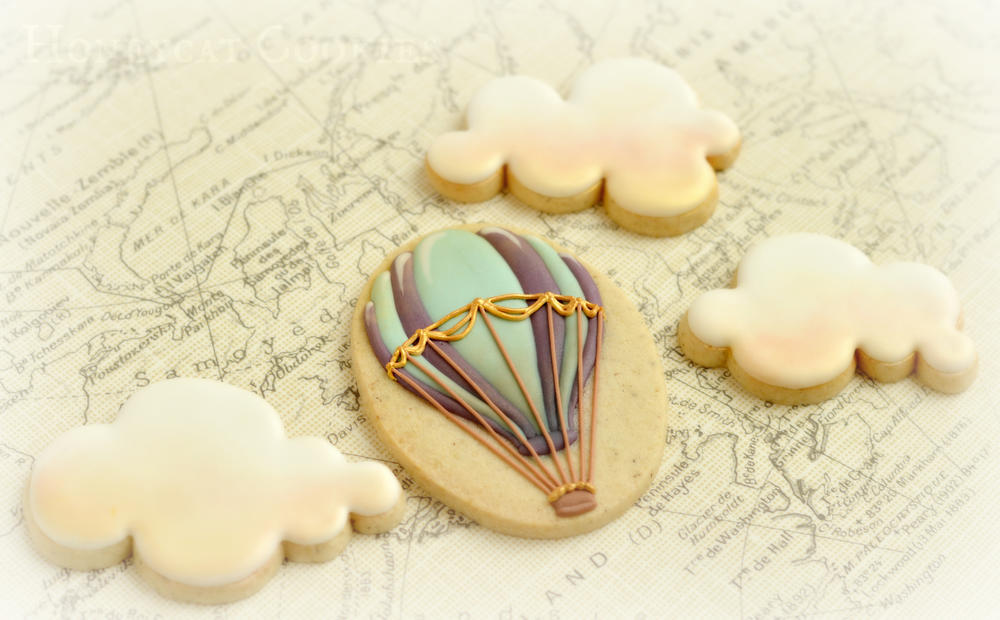 HOW TO MAKE DELICIOUS COOKIE USING YOUR HOT AIR BALLOON CUTTERS
