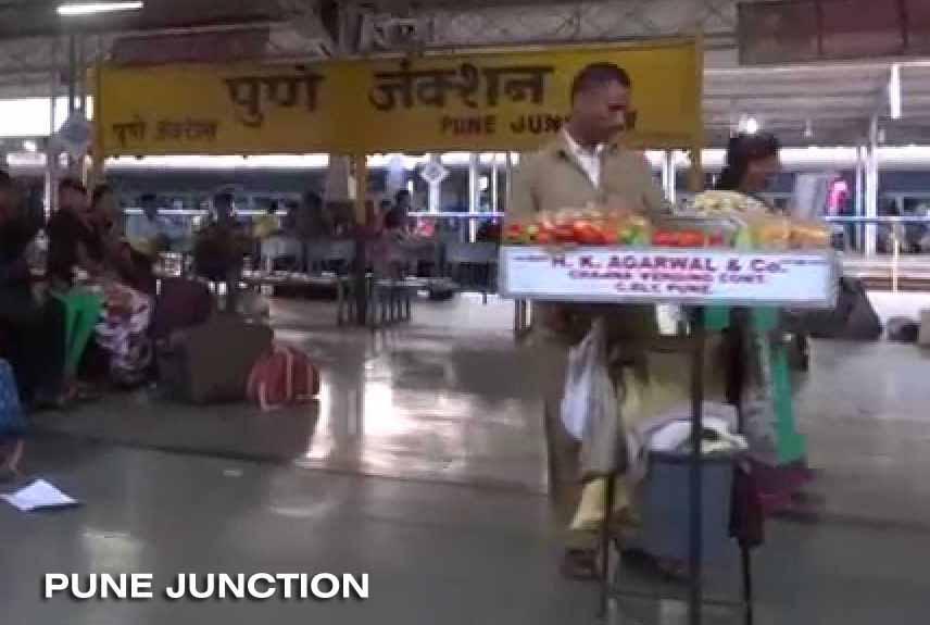 Train Journey between Mumbai and Bangalore