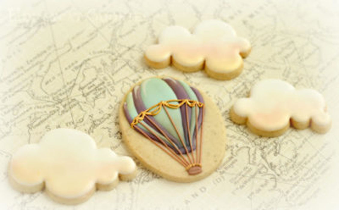 How To Make Delicious Cookie Using Your Hot Air Balloon Cutters-2