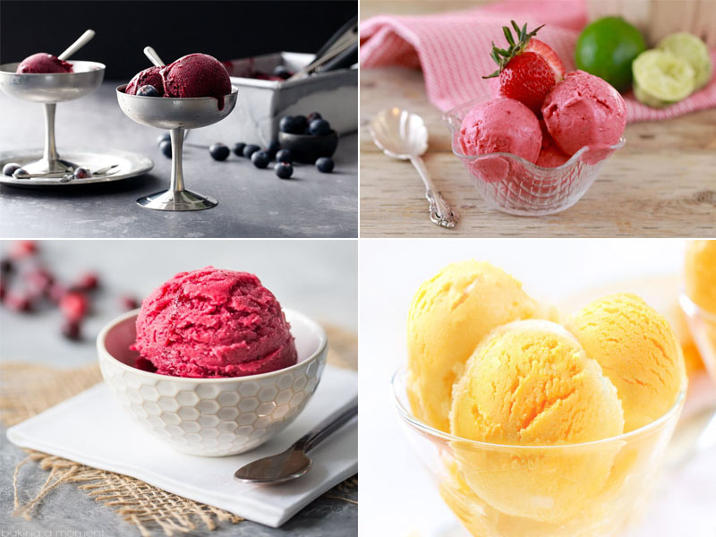 Sorbet: Tips for Making a Low Sugar Dessert