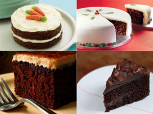 The Four Favorite Delicious Gourmet Cakes