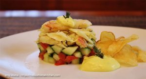 You'll Love This Alaska Dungeness Crab Fruit Salad Recipe
